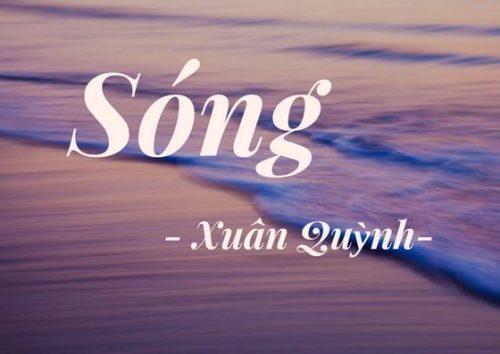 cam nhan ve kho tho 5 6 7 bai tho song - Cảm nhận về khổ thơ 5, 6, 7 bài thơ Sóng