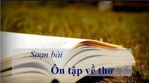 soan bai on tap ve tho - Soạn bài Ôn tập về thơ