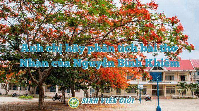Anh chị hãy phân tích bài thơ Nhàn của Nguyễn Bỉnh Khiêm
