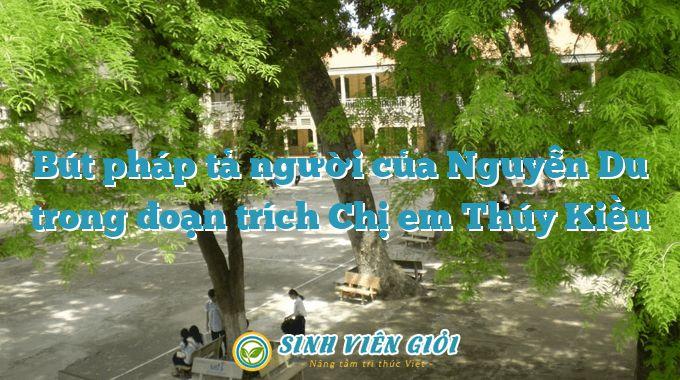 Bút pháp tả người của Nguyễn Du trong đoạn trích Chị em Thúy Kiều
