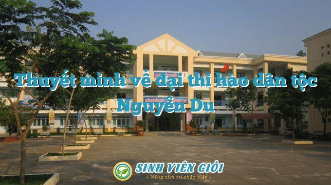 Thuyết minh về đại thi hào dân tộc Nguyễn Du